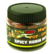 Extra Carp Boilie Pop Up - Spicy Robin Red 16mm/100g