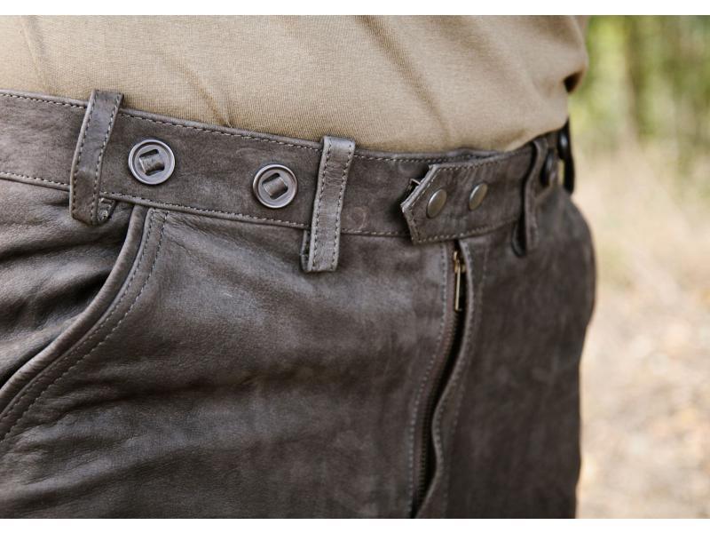 ... Kalhoty kožené hnědé Carl Mayer Rabenau Braun ... a98b54e95d